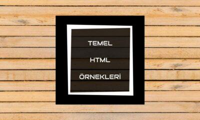 temel HTML örnekleri
