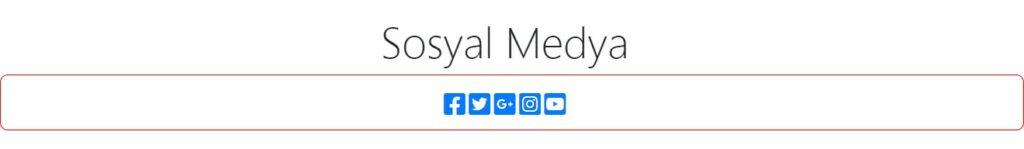 hukuk bürosu - html - sosyal medya bölümü