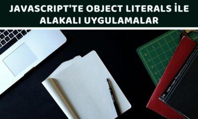 Javascript'te Object Literals İle Alakalı Uygulamalar - Öne Çıkan Görsel