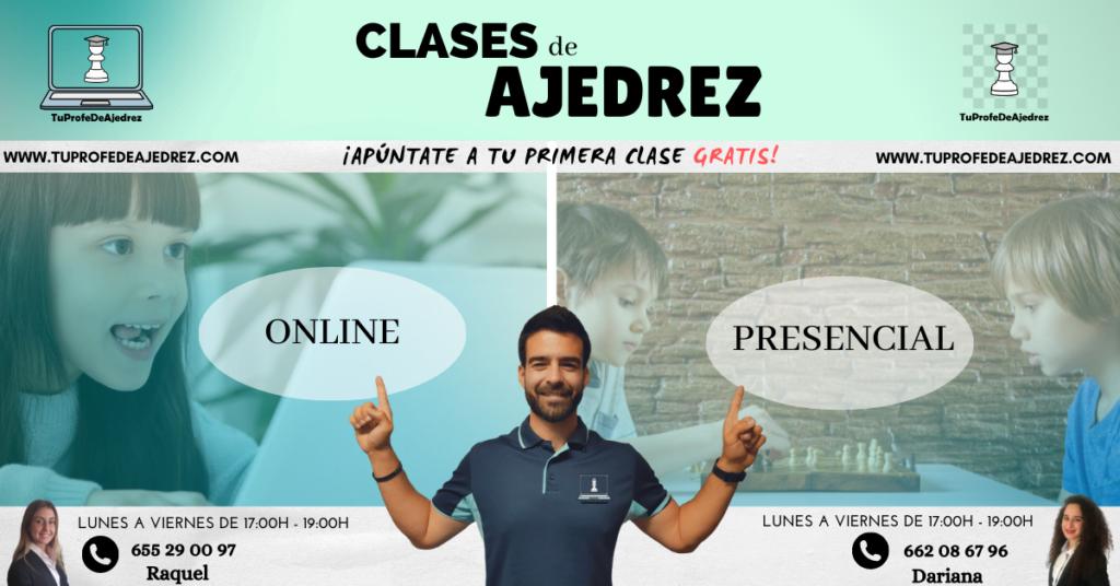 CLASES DE AJEDREZ PARA NIÑOS Y ADULTOS