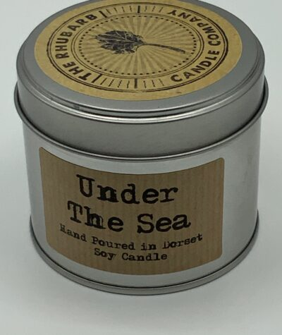 Soy Candle in Tin - Under The Sea