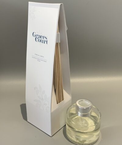 Graces Court Scented Reed Diffuser Fresh Linen 100ml