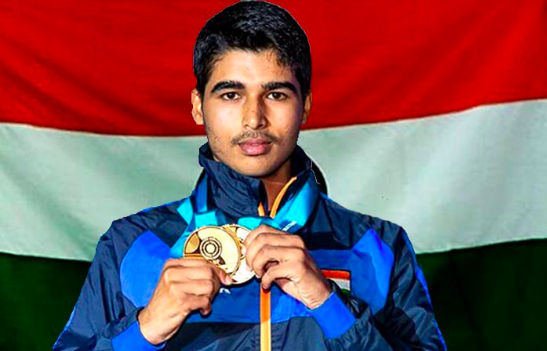 Saurabh Chaudhary broke the previous World Record set by Ukraine's Omelchuk Oleh in May 2018 at the Munich World Cup by 1.4 points.