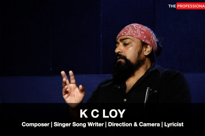 K C Loy: This singer songwriter defines his songs as, Raw, Organic, Earthy ...Indian!