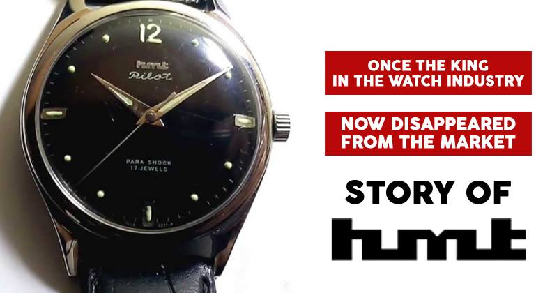 """""""Timekeepers To The Nation"""" - The Legend of HMT Watches : What Went Wrong?"""