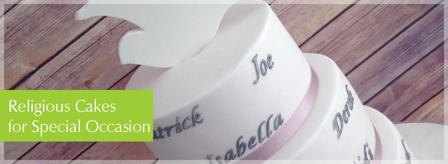 religious cakes header