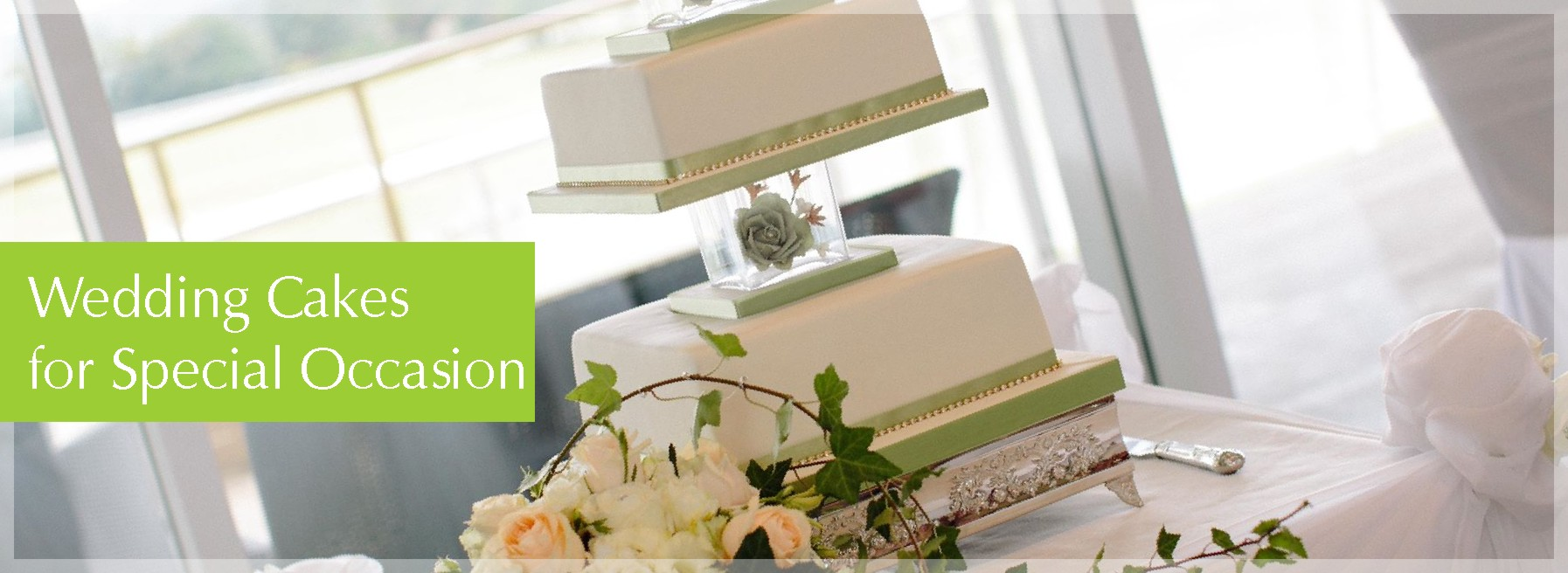wedding cakes photo header