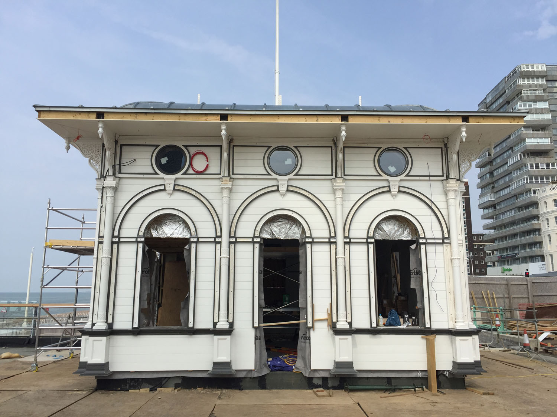 Brighton i360 by Marks Barfield Architects.
