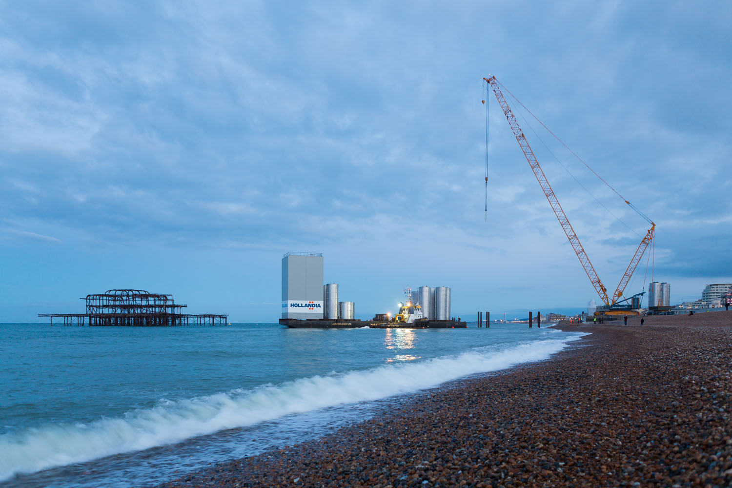 3rd Beach Landing on the 23rd June 2015. Image by Kevin Meredith