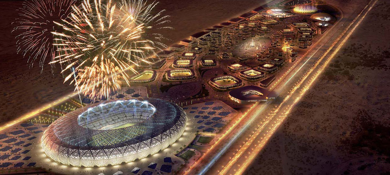 King Abdullah Sports Oasis by Marks Barfield Architects