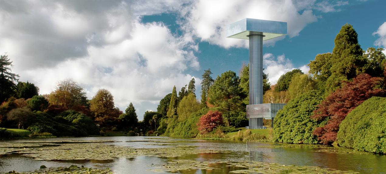 Villa Hush Hush CGI View by Marks Barfield Architects