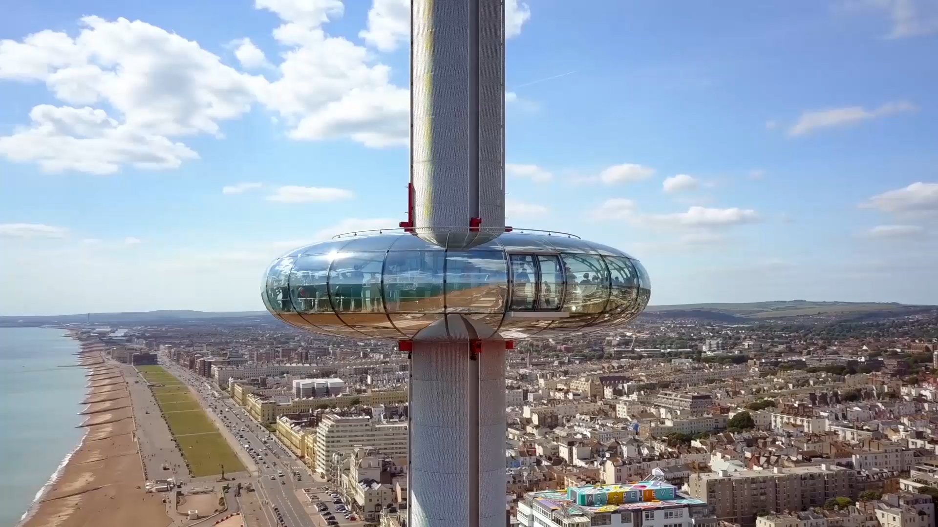 Brighton i360 by Marks Barfield Architects.