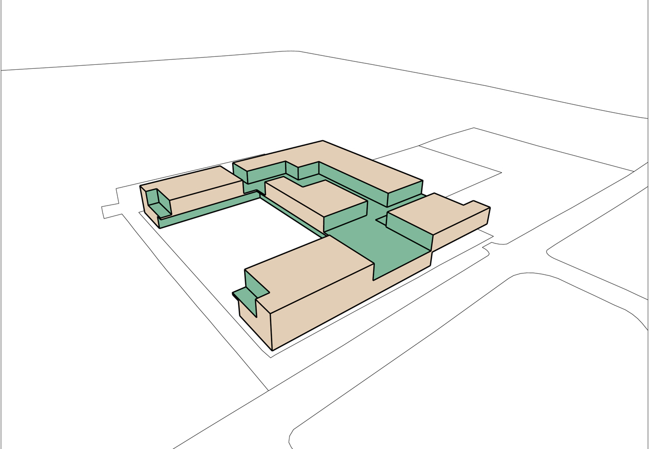 Stormont Secondary School by Marks Barfield Architects