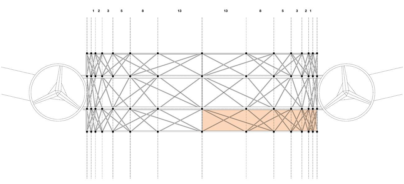 platform fibonacci structure - Kew Gardens Treetop Walkway by Marks Barfield Architects