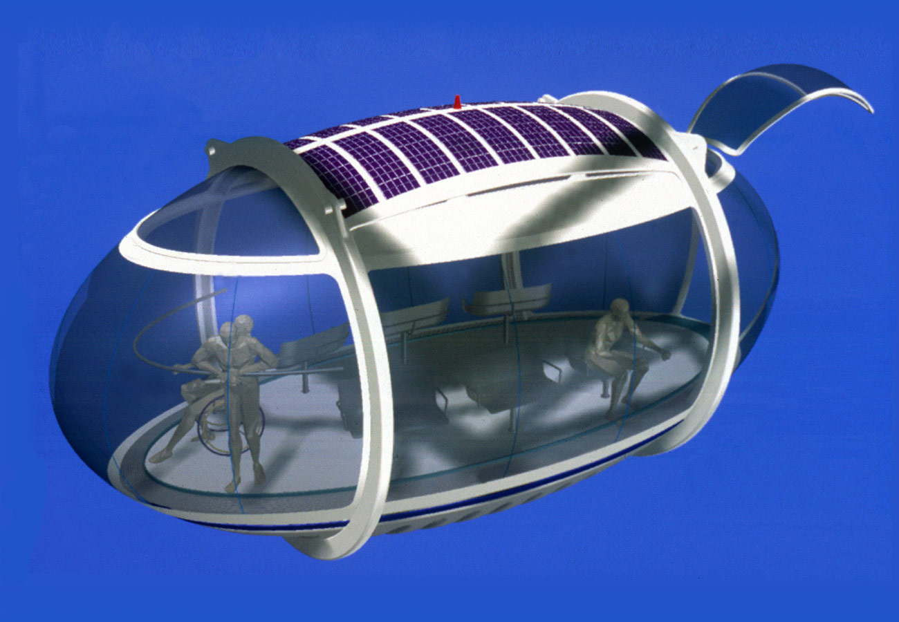 Capsule 3D image - The London Eye by Marks Barfield Architects