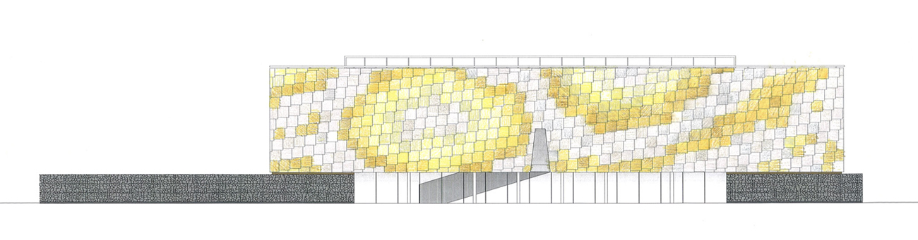 cladding option - Lightbox by Marks Barfield Architects