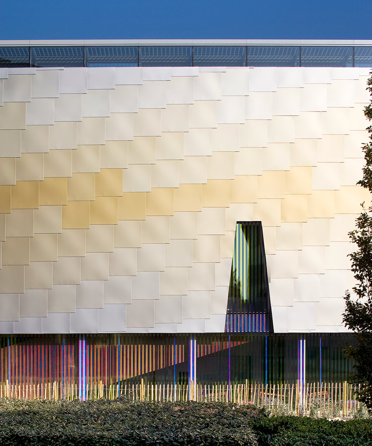 aluminium cladding - Lightbox by Marks Barfield Architects