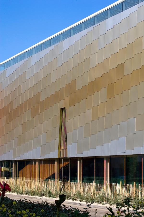 aluminium cladding - Lightbox by Marks Barfield Architects