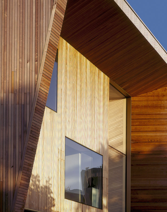 timber cladding - Lightbox by Marks Barfield Architects