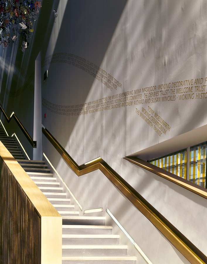 stairs - Lightbox by Marks Barfield Architects