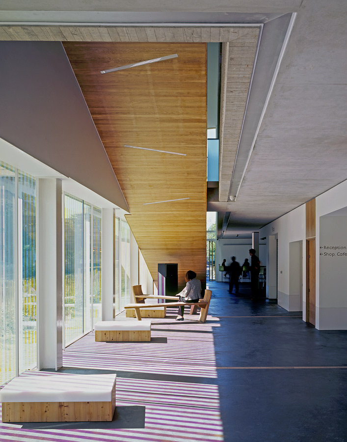 interior - Lightbox by Marks Barfield Architects