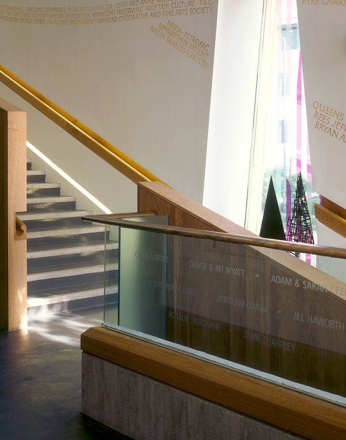 balustrade - Lightbox by Marks Barfield Architects