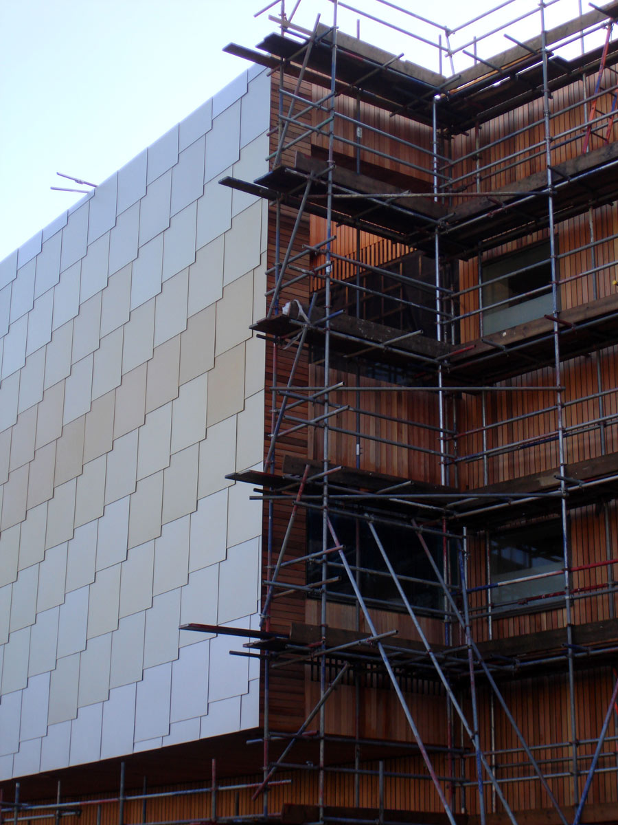 cladding construction - Lightbox by Marks Barfield Architects