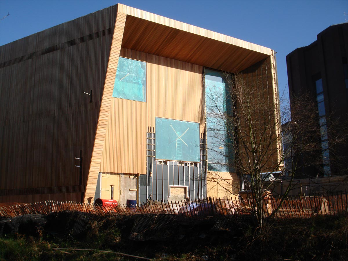 construction - Lightbox by Marks Barfield Architects