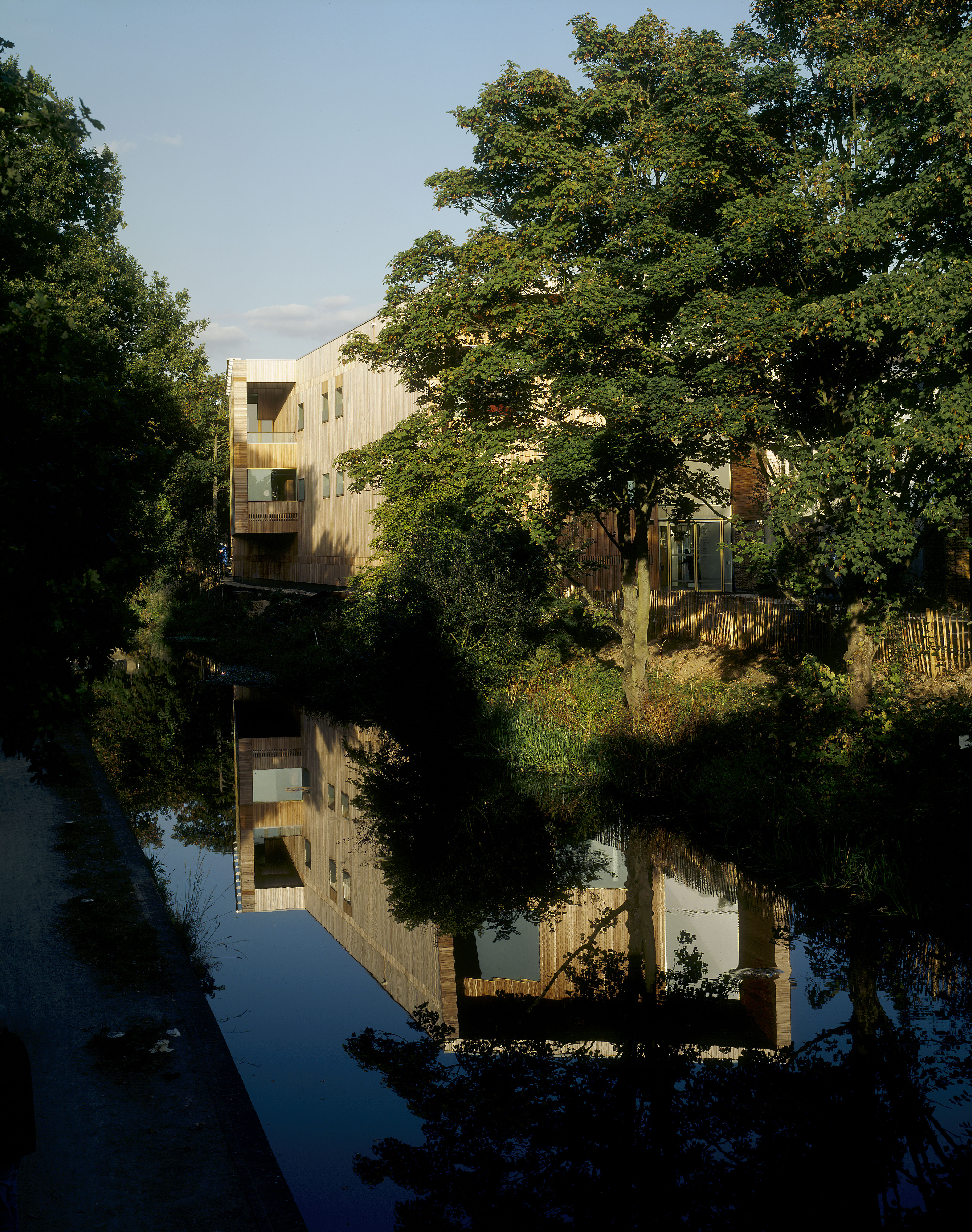 view from river - Lightbox by Marks Barfield Architects