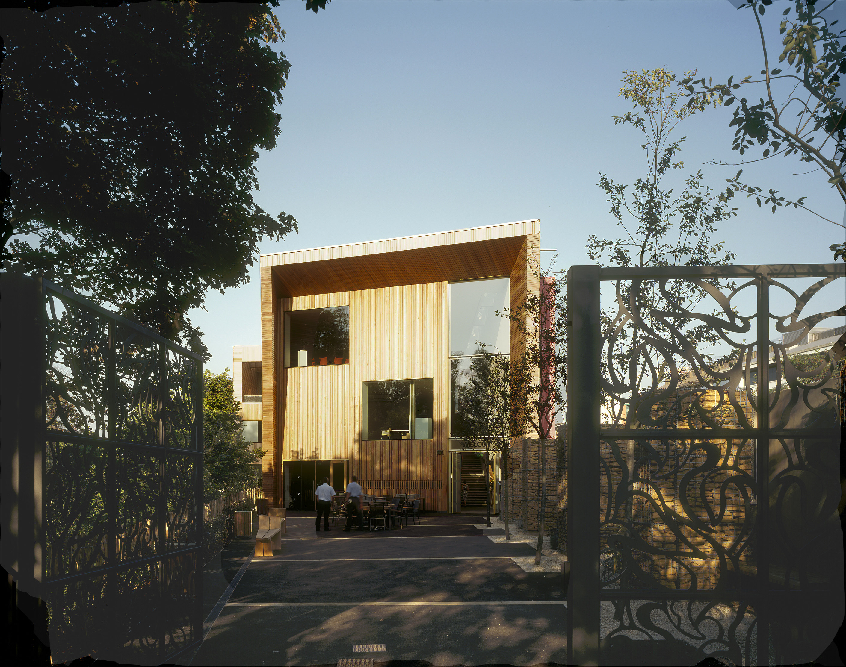 entrance - Lightbox by Marks Barfield Architects
