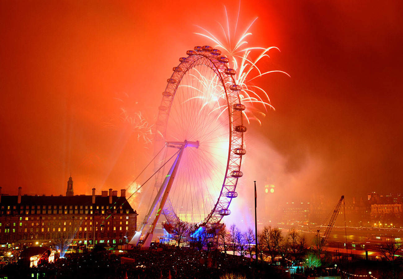 Fireworks - The London Eye by Marks Barfield Architects