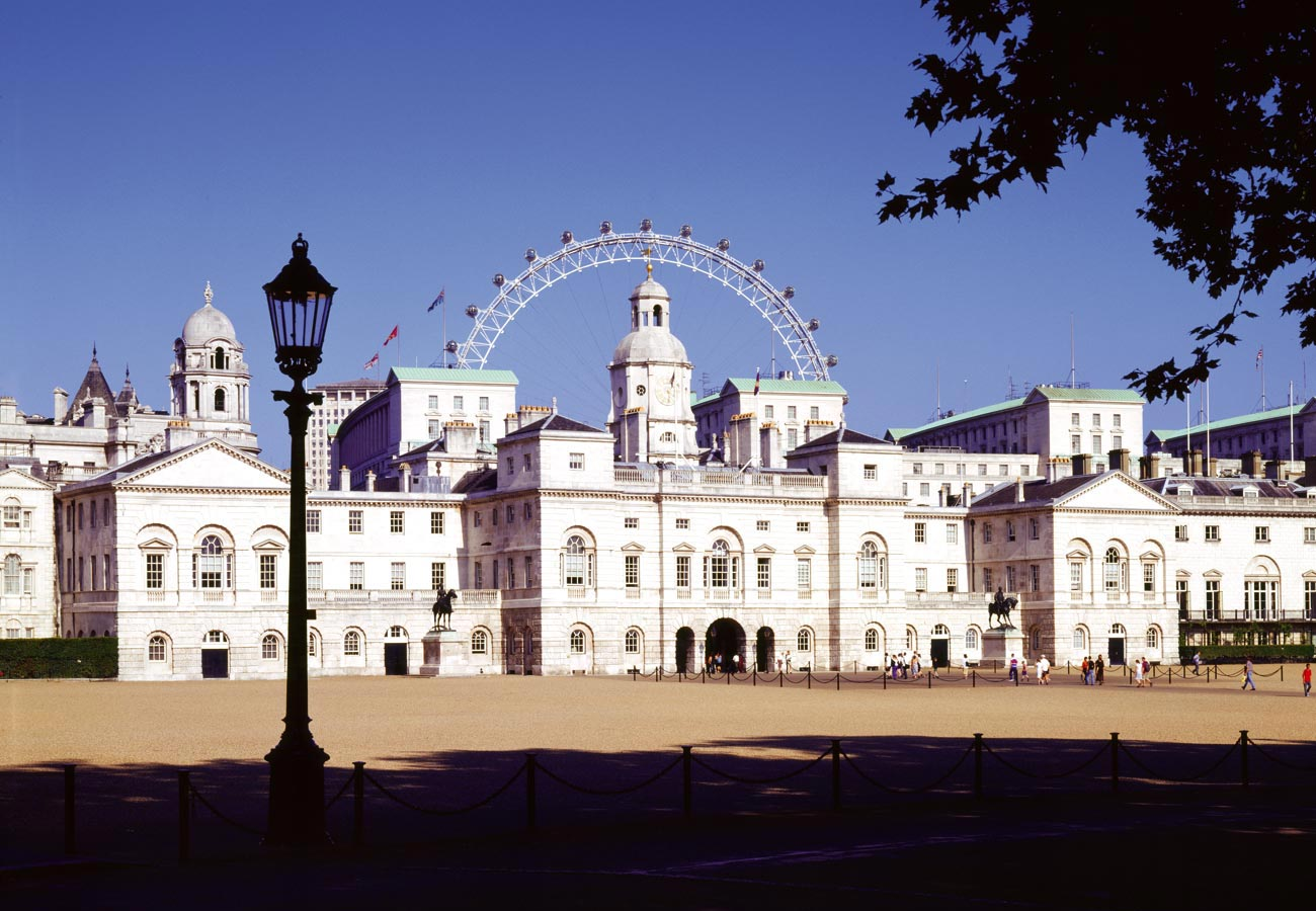 View from the Horse Guards Parade - The London Eye by Marks Barfield Architects