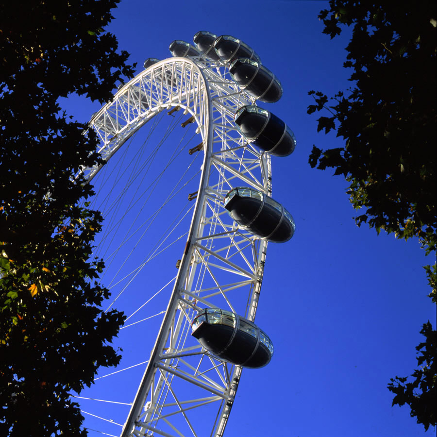 The London Eye by Marks Barfield Architects