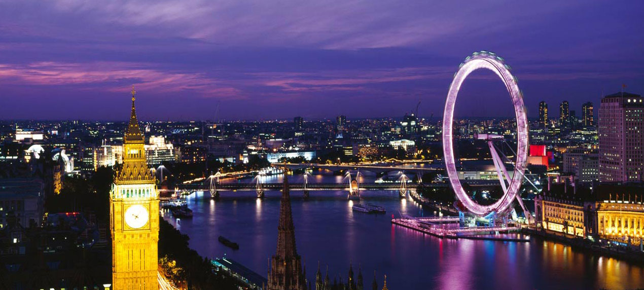 The view from the top of the Victoria Tower - The London Eye by Marks Barfield Architects