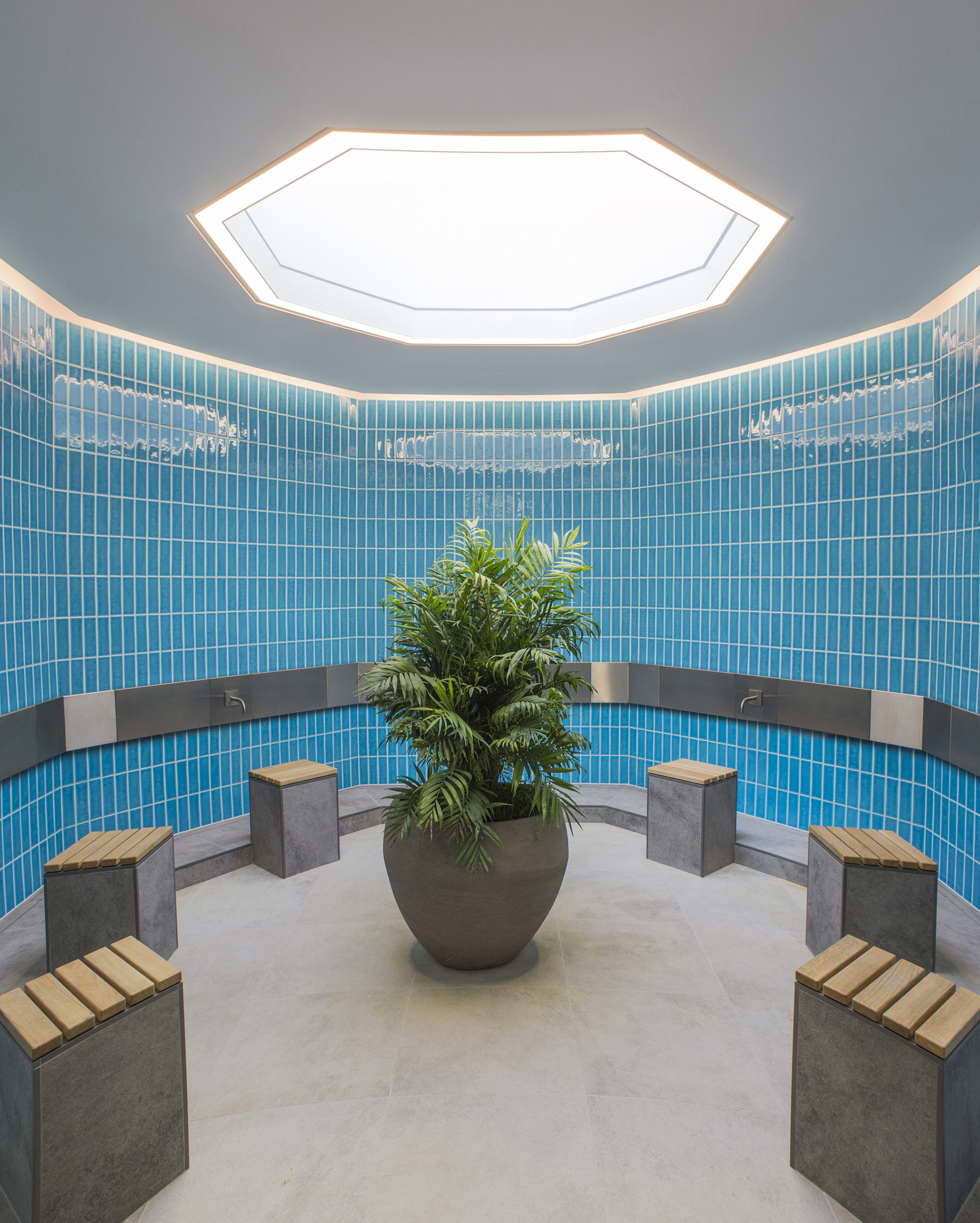 Female ablutions. The Cambridge Mosque by Marks Barfield Architects