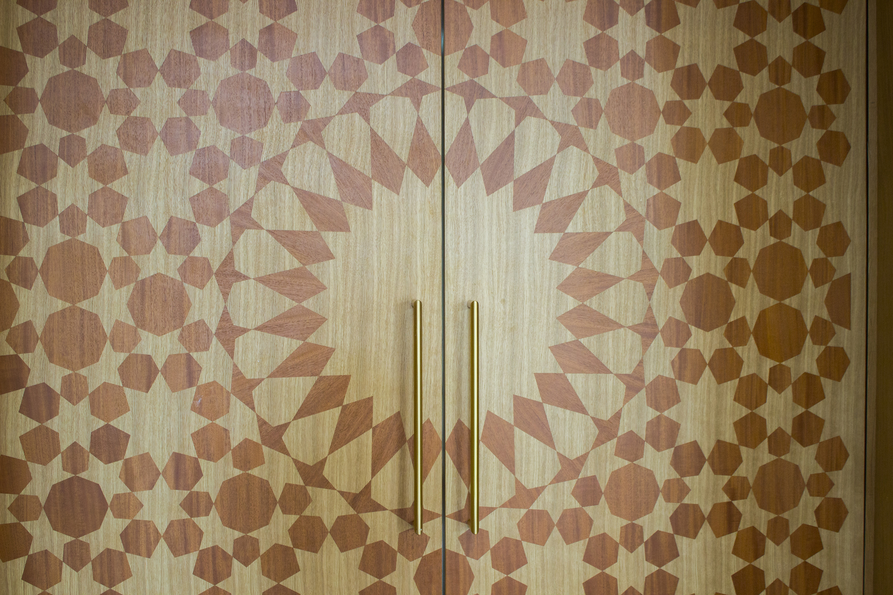 Doors. The Cambridge Mosque by Marks Barfield Architects
