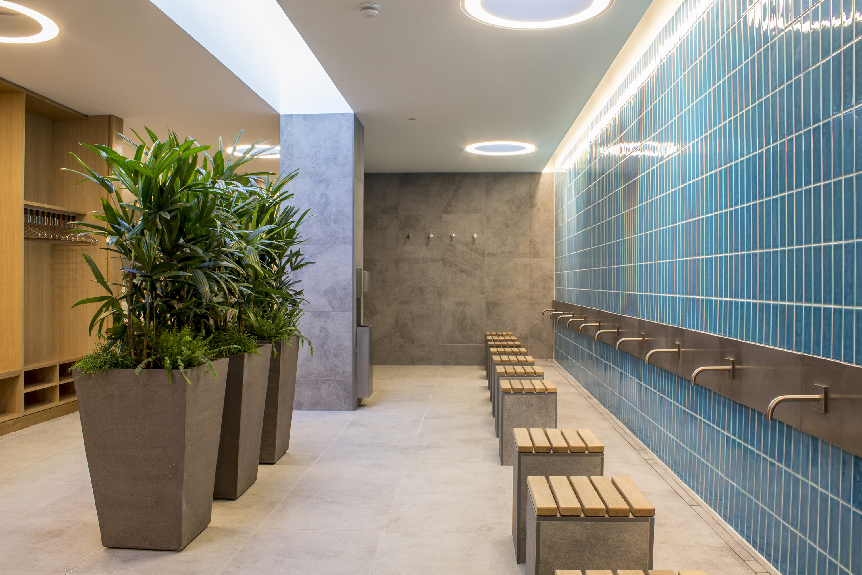 Male Ablutions. The Cambridge Mosque by Marks Barfield Architects