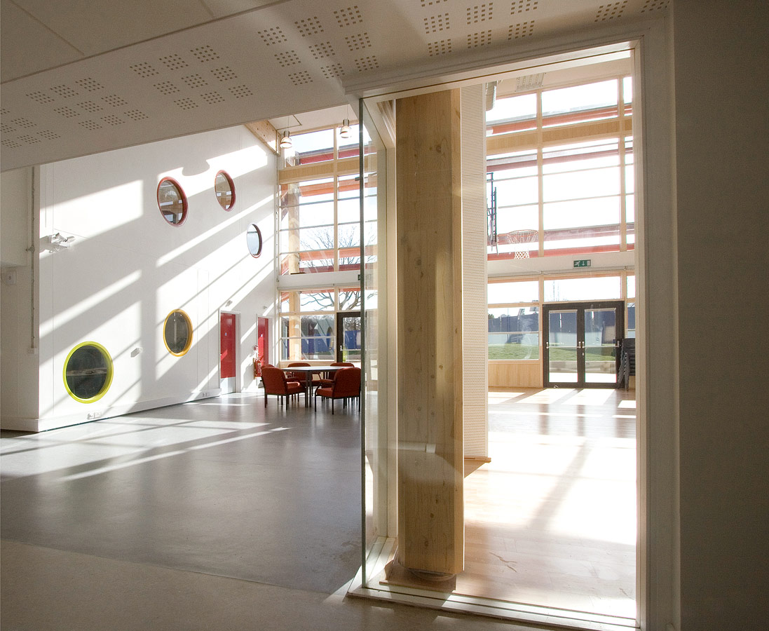 interior - Michael Tippett School by Marks Barfield Architects
