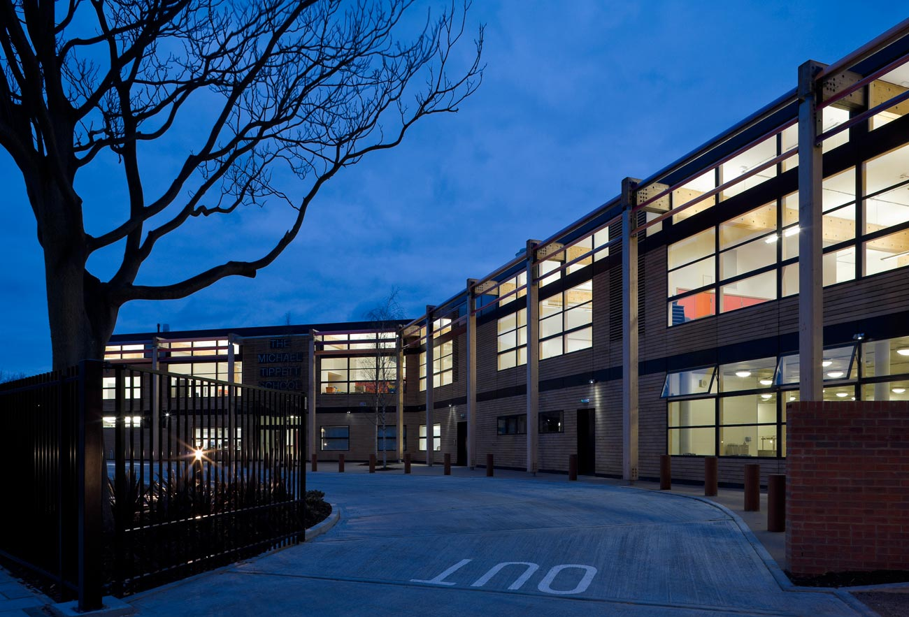 Michael Tippett School by Marks Barfield Architects