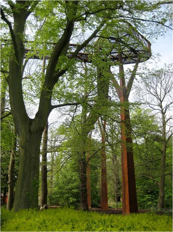 Kew Gardens Treetop Walkway by Marks Barfield Architects
