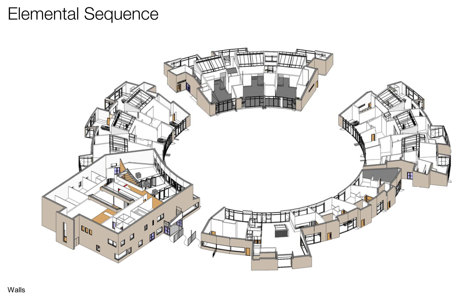 elemental sequence - University of Cambridge Primary School by Marks Barfield Architects