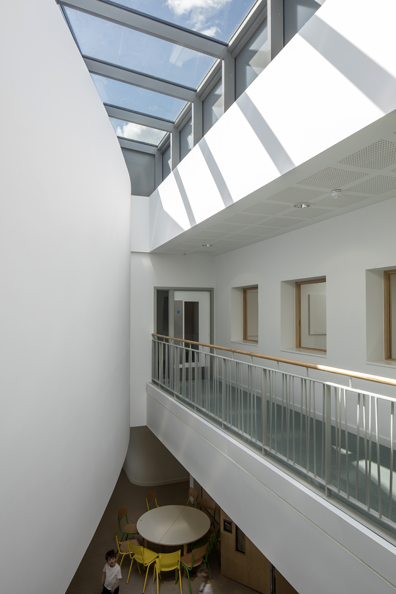 void - University of Cambridge Primary School by Marks Barfield Architects