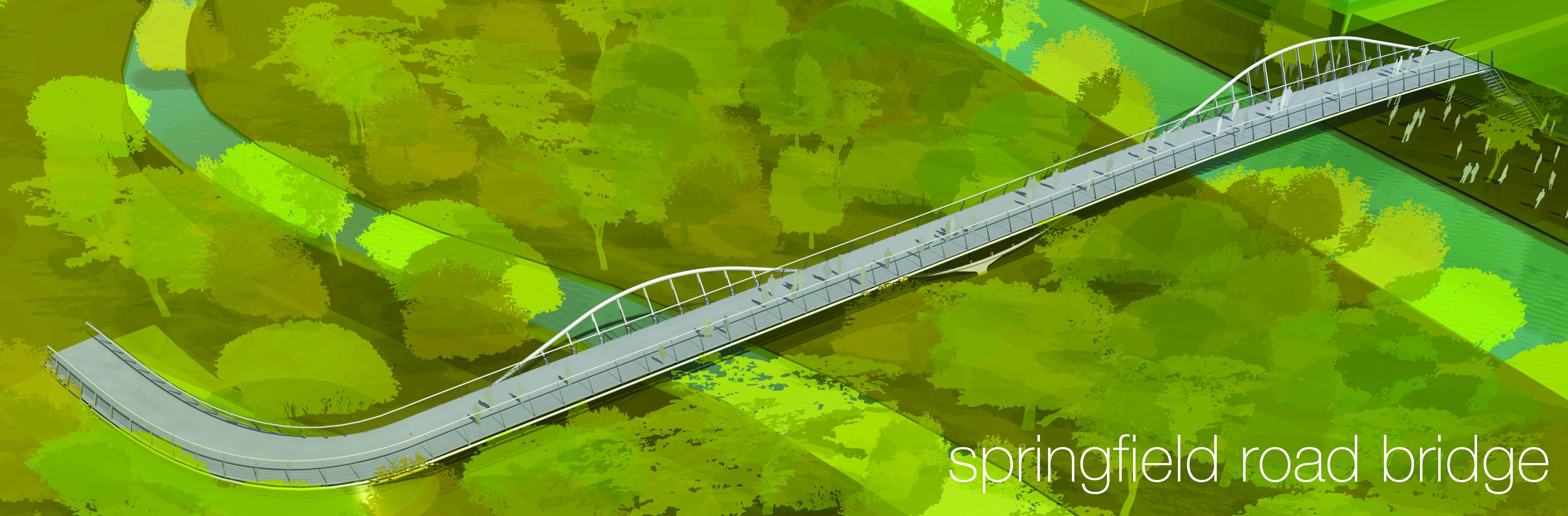 Springfield Bridge by Marks Barfield Architects