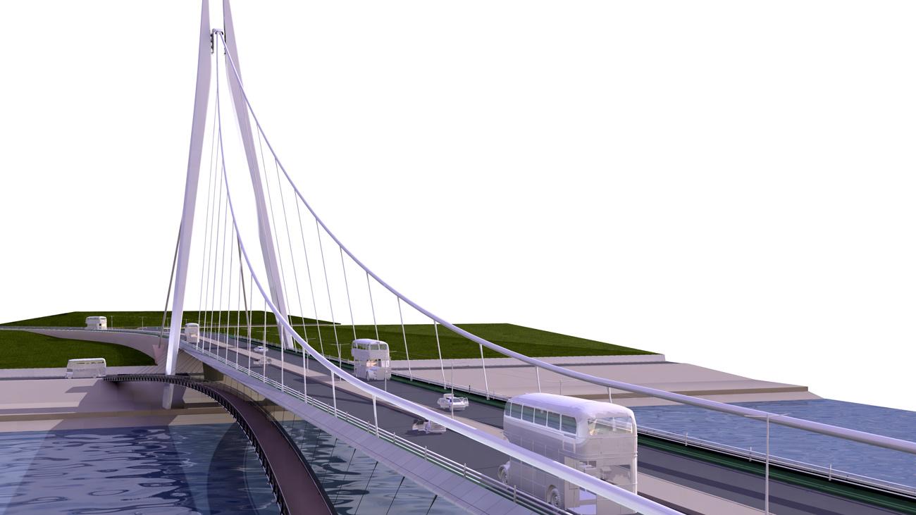Sunderland Bridge by Marks Barfield Architects