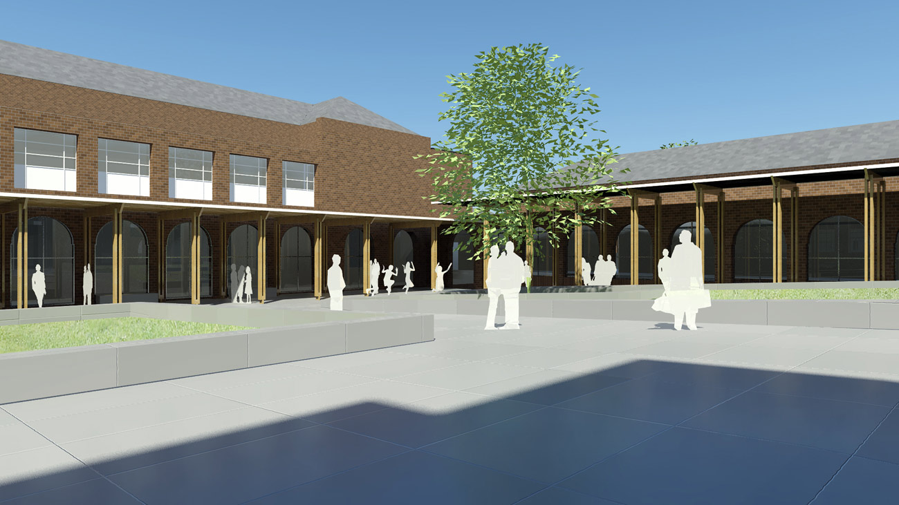 cgi - Saltley Secondary School by marks Barfield Architects