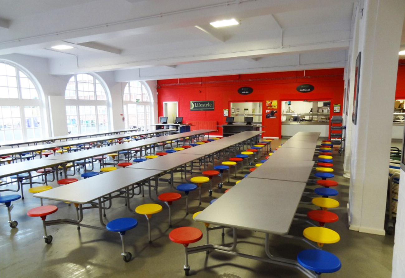 Saltley Secondary School by marks Barfield Architects