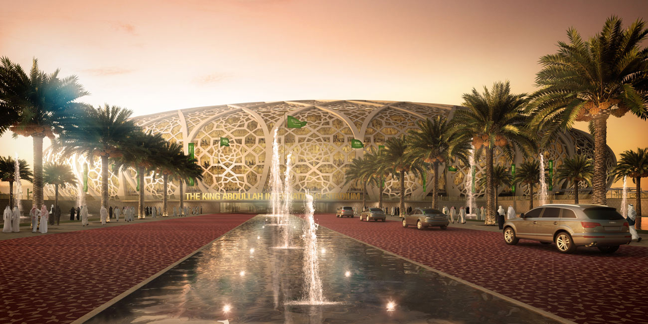 stadium - King Abdullah Sports Oasis by Marks Barfield Architects