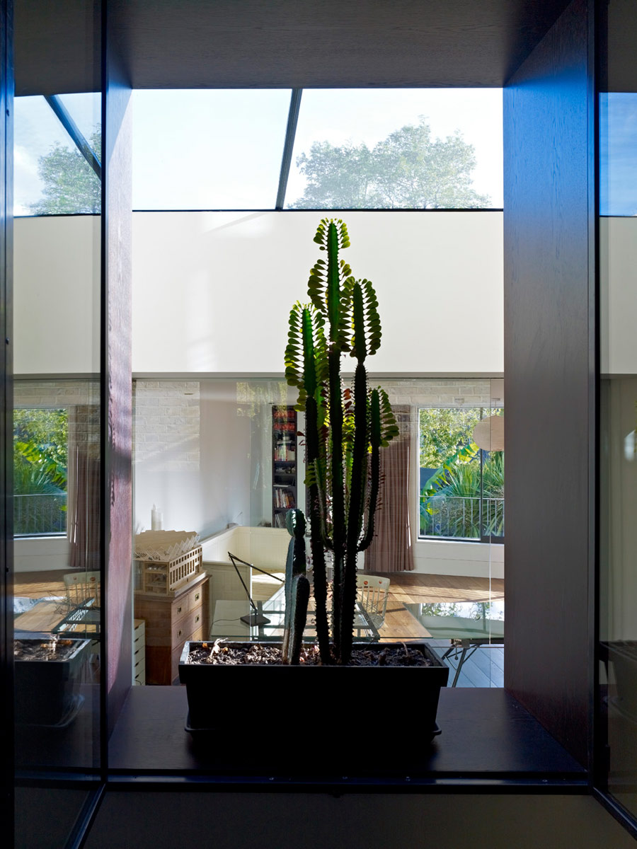 Priory Grove Interior Cactus View by Marks Barfield Architects