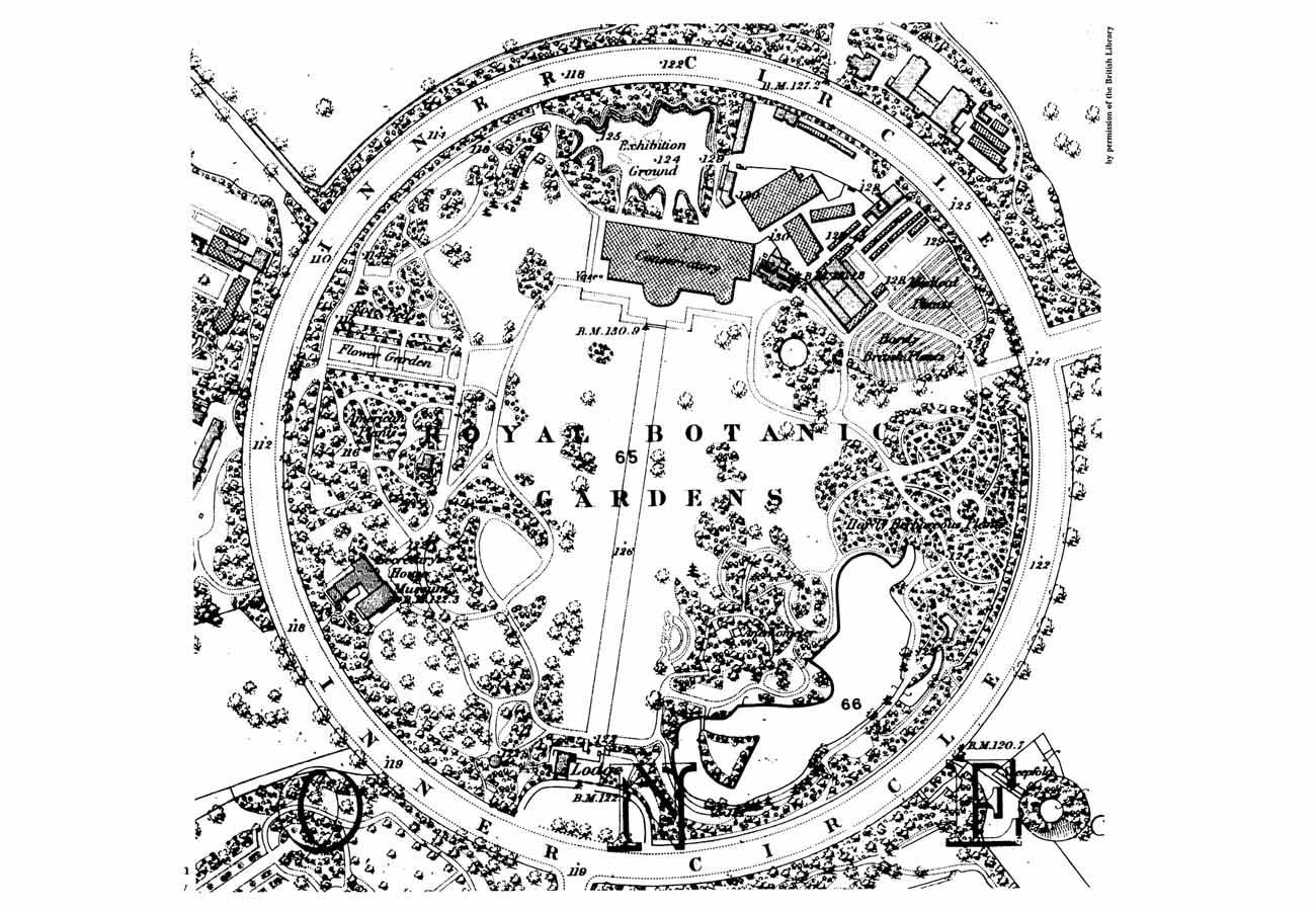 Regents Park 1870 PLAN