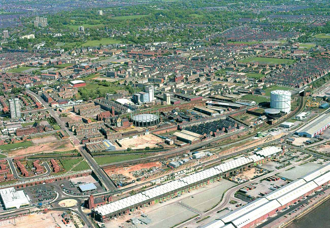 Liverpool Edge Aerial Photograph